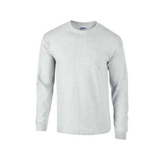 Gildan Men's Ultra 100% Cotton Heavyweight Long Sleeve T-Shirt