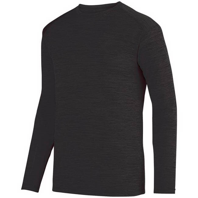Augusta Men's Shadow Tonal Heather Long Sleeve Tee