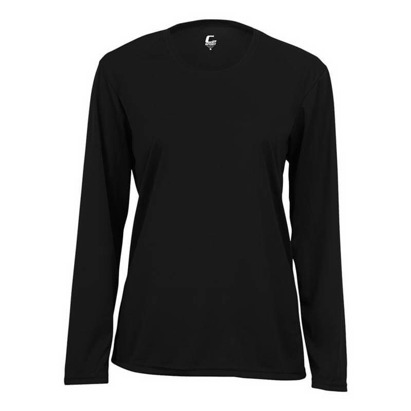 Badger Women's C2 Long Sleeve Ladies Crew