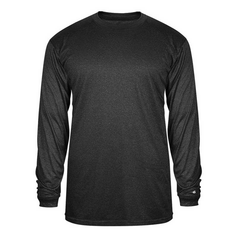 Badger Men's Pro Heather Long Sleeve Tee