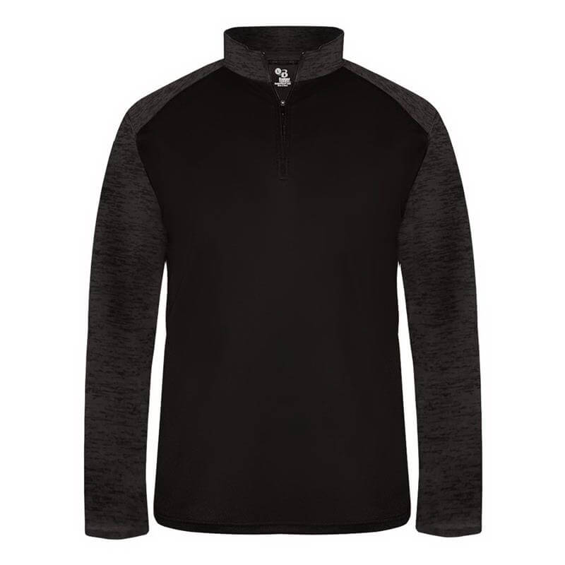 Badger Men's Sport Tonal Blend 1/4 Zip Pullover