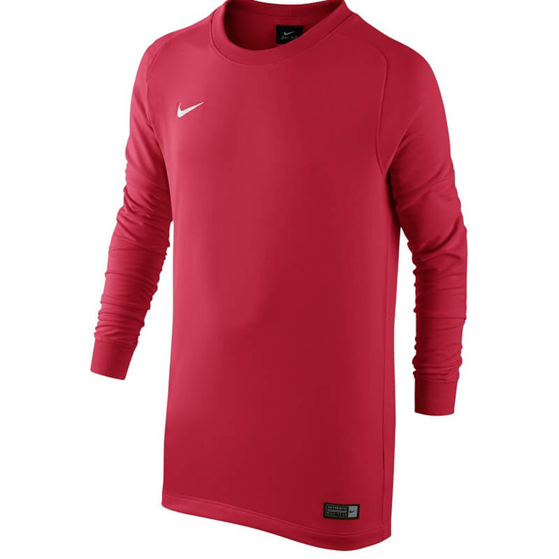 quality design bc402 049fe ... 894515 Red  Nike Youth Dry Top Park Goalkeeper II Long Sleeve Jersey ...