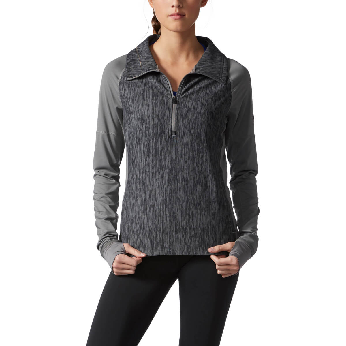 Adidas Women's Performer Baseline 1/4-Zip Pullover