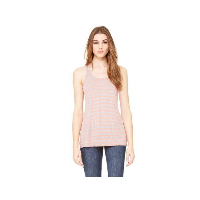 Bella+Canvas Women's Flowy Racerback Top