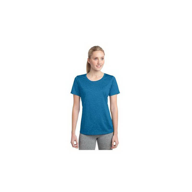 Sport-Tek Women's Heather Contender Scoop Neck Tee