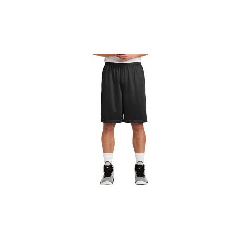 Sport-Tek Men's Long Posicharge Classic Mesh Shorts