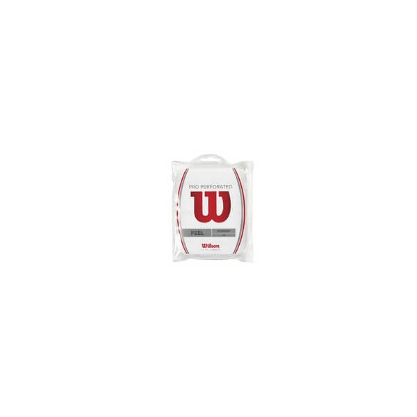 Wilson Pro Overgrip Peforated - 12 Pack (White)