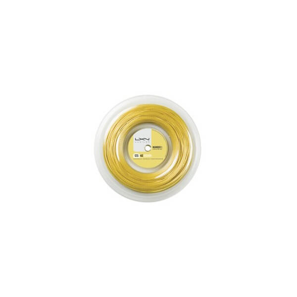 Luxilon 4G Rough 125 200M String - Reel (Gold)