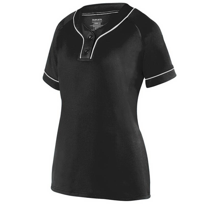 Augusta Women's Overpower Two-Button Jersey