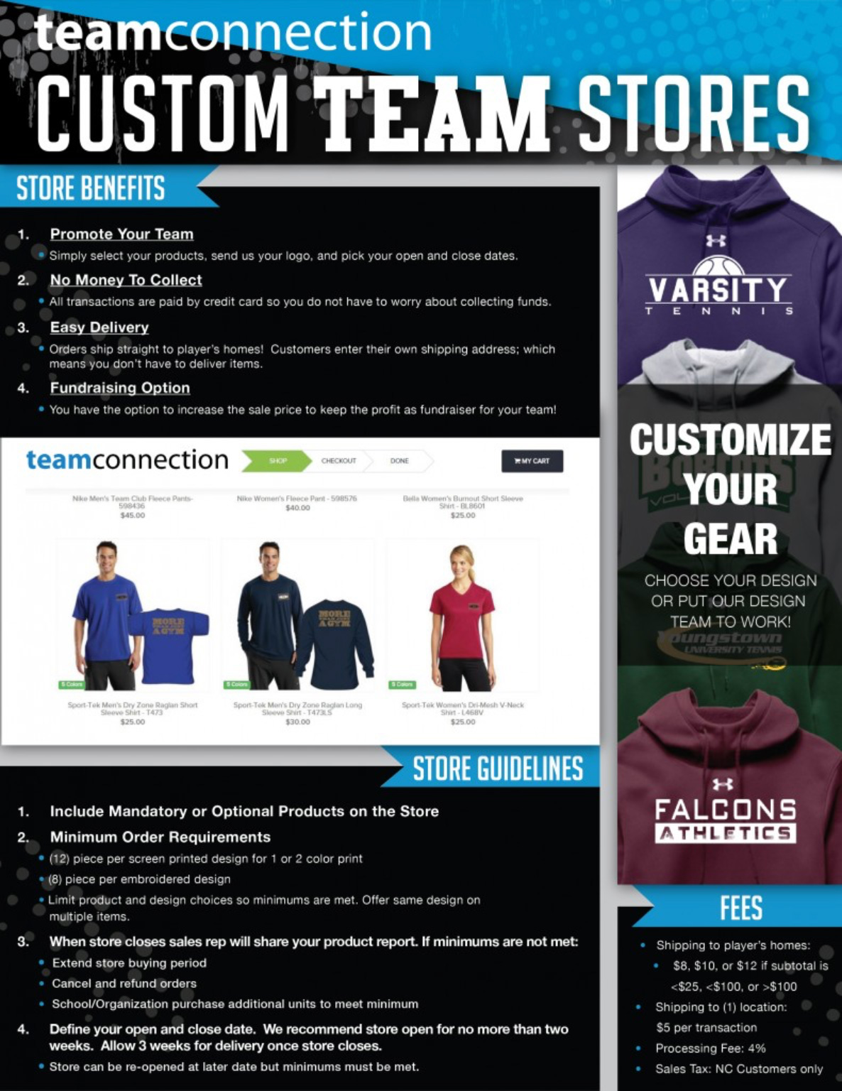 Teamconnection Custom Team Stores