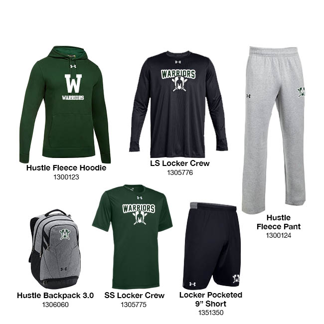 Men's UA Fleece Package