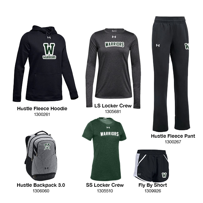 Women's UA Fleece Package