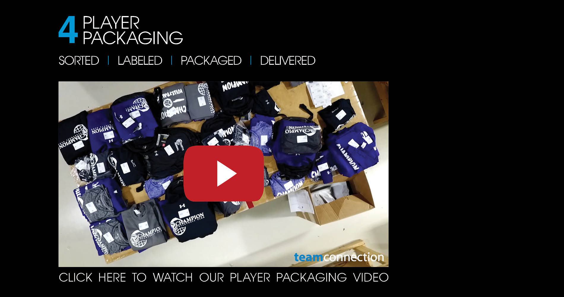 Player packaging