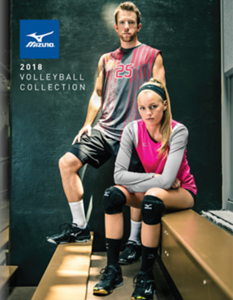 Mizuno Volleyball 2018 Catalog