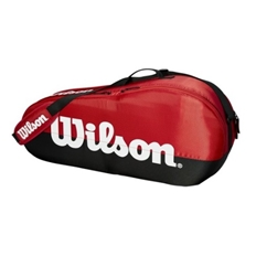 Wilson Team Red Collection 3 Pack Racquet Bag