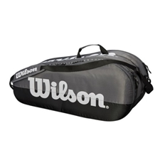 Wilson Team Silver Collection 6 Pack Racquet Bag