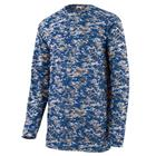 Augusta Youth Digi Camo Wicking Long Sleeve T-Shirt