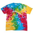 Tie Dye Men Heavyweight Cotton Neon T-Shirt