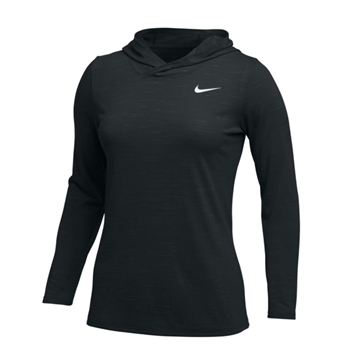 Nike Women's Hyper Dry Hooded Long Sleeve Top