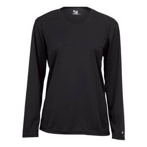 Badger Women's B-Core Ladies Long Sleeve Tee