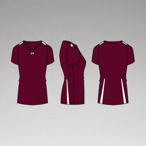 Under Armour Women's Power Alley Short Sleeve Jersey
