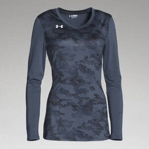 Under Armour Women's Ultimate Spike Print Long Sleeve Jersey