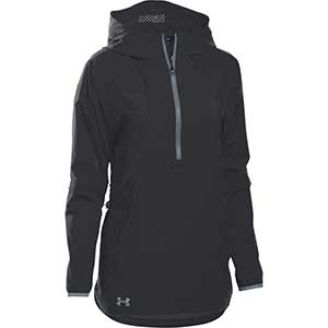 Under Armour Women's Squad Woven 1/2 Zip