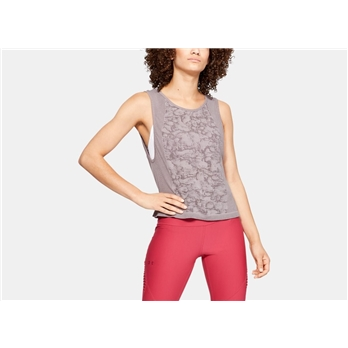 Under Armour Women's Vanish Seamless Mesh Muscle Tank