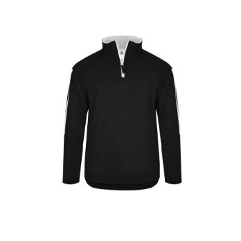 Badger Men's Sideline Fleece 1/4 Zip