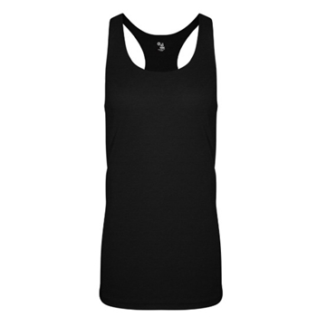 Badger Women's Triblend Racerback Tank
