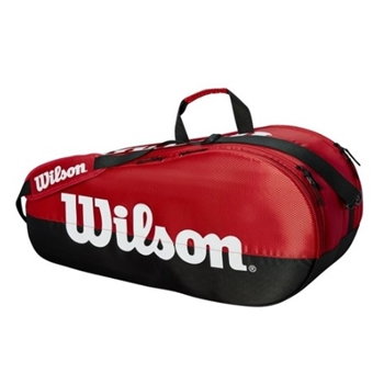 Wilson Team Red Collection 6 Pack Racquet Bag