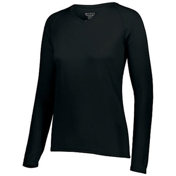 Augusta Women's Attain Wicking Long Sleeve Tee