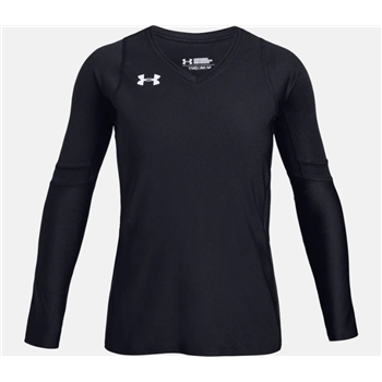 Under Armour Girl's Volleyball Powerhouse Long Sleeve Jersey