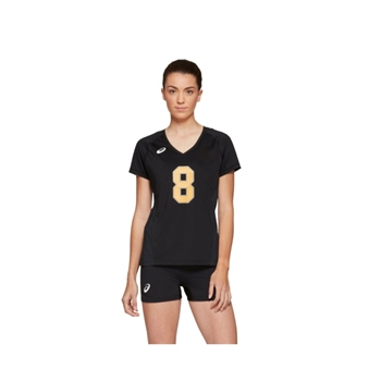 Asics Girls Spin Serve Short Sleeve Jersey