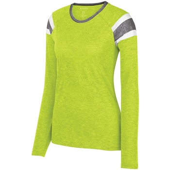 Augusta Women's Long Sleeve Fanatic Tee