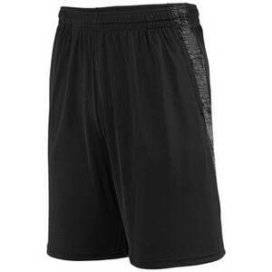 Augusta Youth Intensify Black Heather Training Shorts