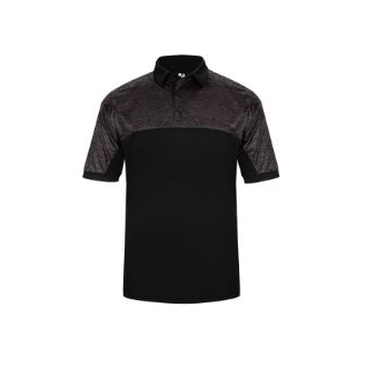 Badger Men's Tonal Blend Polo