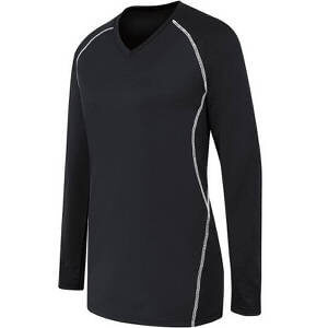 High Five Women's Long Sleeve Solid Jersey