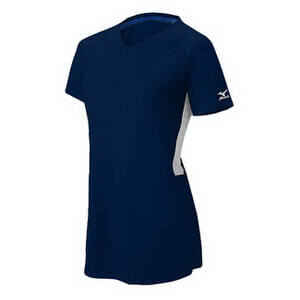 Mizuno Women's Compression Short Sleeve V-Neck Jersey
