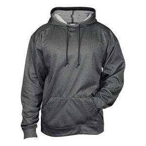 Badger Men's Pro Heather Fleece Hood