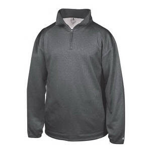 Badger Men's Pro Heather Fleece 1/4 Zip Pullover