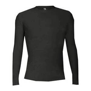 Badger Men's Pro-Compression Long Sleeve Crew