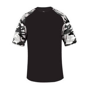 Badger Men's Camo Sport Tee