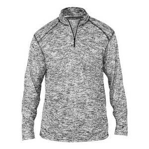 Badger Men's Blend 1/4 Zip Pullover