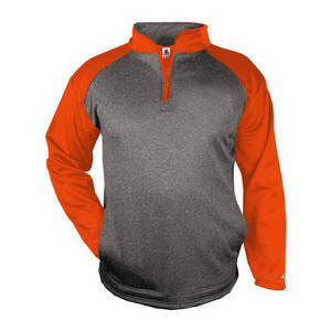 Badger Men's Sport Heather 1/4 Zip Pullover