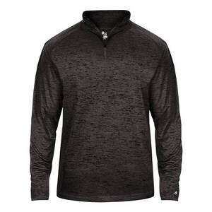 Badger Men's Tonal Blend 1/4 Zip Pullover
