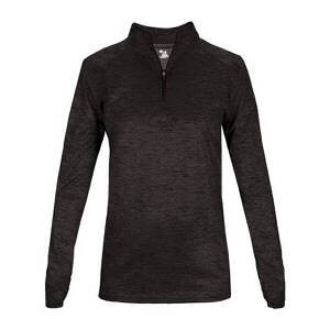 Badger Women's Tonal Blend Ladies 1/4 Zip Pullover