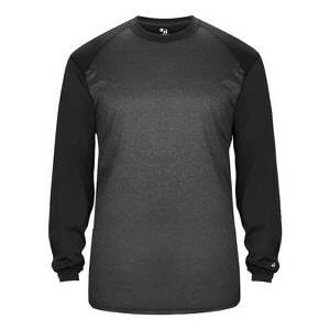 Badger Men's Tonal Sport Heather Long Sleeve Tee