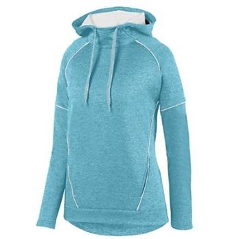Augusta Women's Zoe Tonal Heather Hoodie