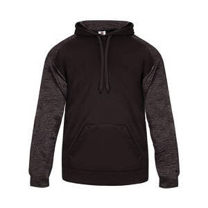 Badger Men's Sport Tonal Blend Fleece Hood
